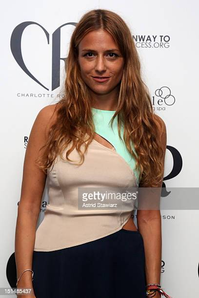 Designer Charlotte Ronson attends the Charlotte Ronson SS13 after party at Empire Hotel on September 7, 2012 in New York City.