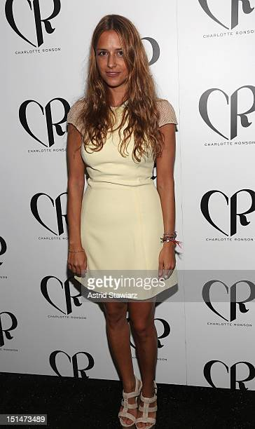 Designer Charlotte Ronson attends the Charlotte Ronson SS13 Show at The Stage at Lincoln Center on September 7, 2012 in New York City.
