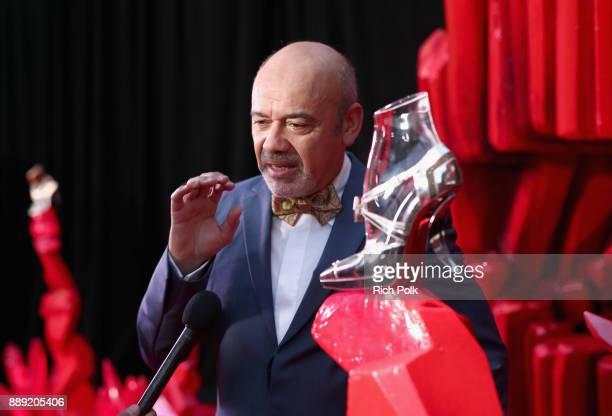 Designer Christian Louboutin at Star Wars The Last Jedi Premiere at The Shrine Auditorium on December 9 2017 in Los Angeles California