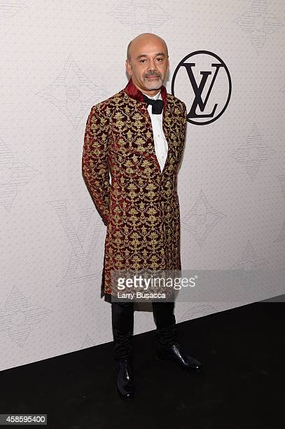 Designer Christian Louboutin attends Louis Vuitton Monogram celebration at Museum of Modern Art on November 7 2014 in New York City