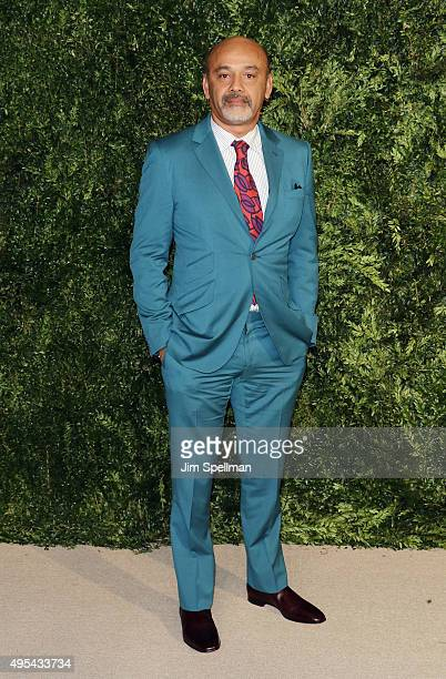 Designer Christian Louboutin attends the 12th annual CFDA/Vogue Fashion Fund Awards at Spring Studios on November 2 2015 in New York City