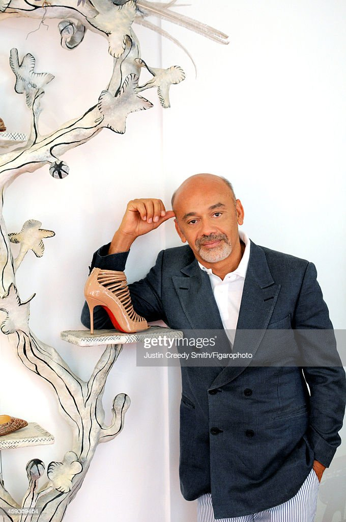Christian Louboutin, Madame Figaro, September 26, 2014