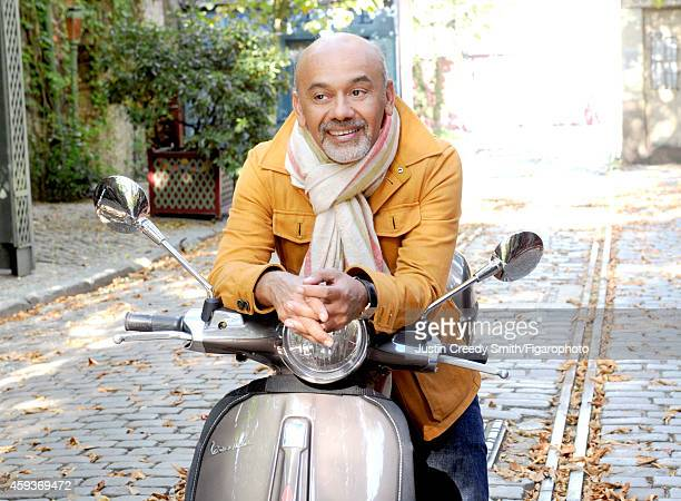 Designer Christian Louboutin is photographed for Madame Figaro on September 10 2014 in Paris France PUBLISHED IMAGE CREDIT MUST READ Justin Creedy...
