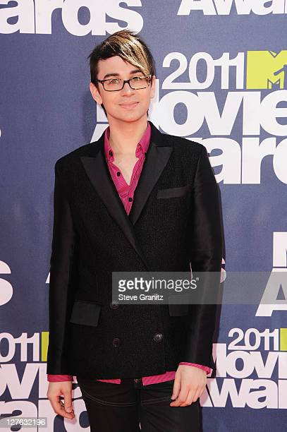 Designer Christian Siriano arrives at the 2011 MTV Movie Awards at Universal Studios' Gibson Amphitheatre on June 5, 2011 in Universal City,...
