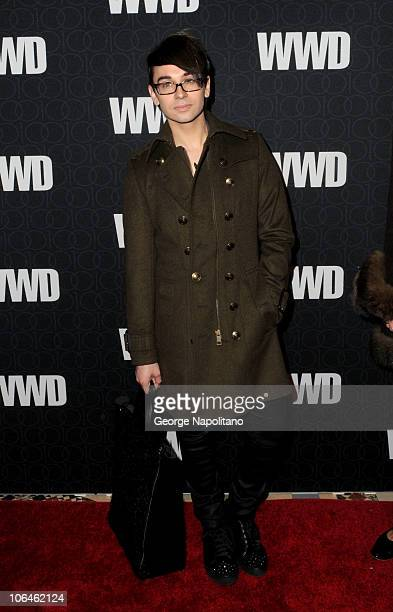 Designer Christian Siriano attends the WWD @ 100 Anniversary Gala at Cipriani 42nd Street on November 2, 2010 in New York City.