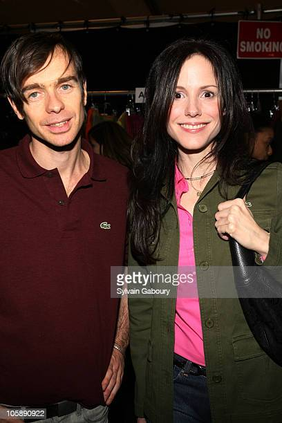 Designer Christophe Lemaire and MaryLouise Parker