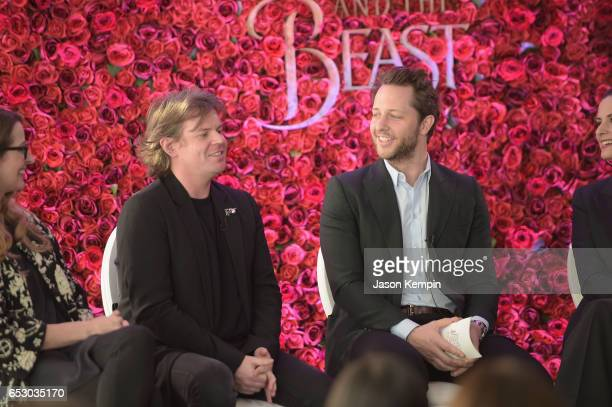 Designer Christopher Kane and Vanity Fair's Derek Blasberg were part of a panel discussion on storytelling through fashion inspired by Disney's live...