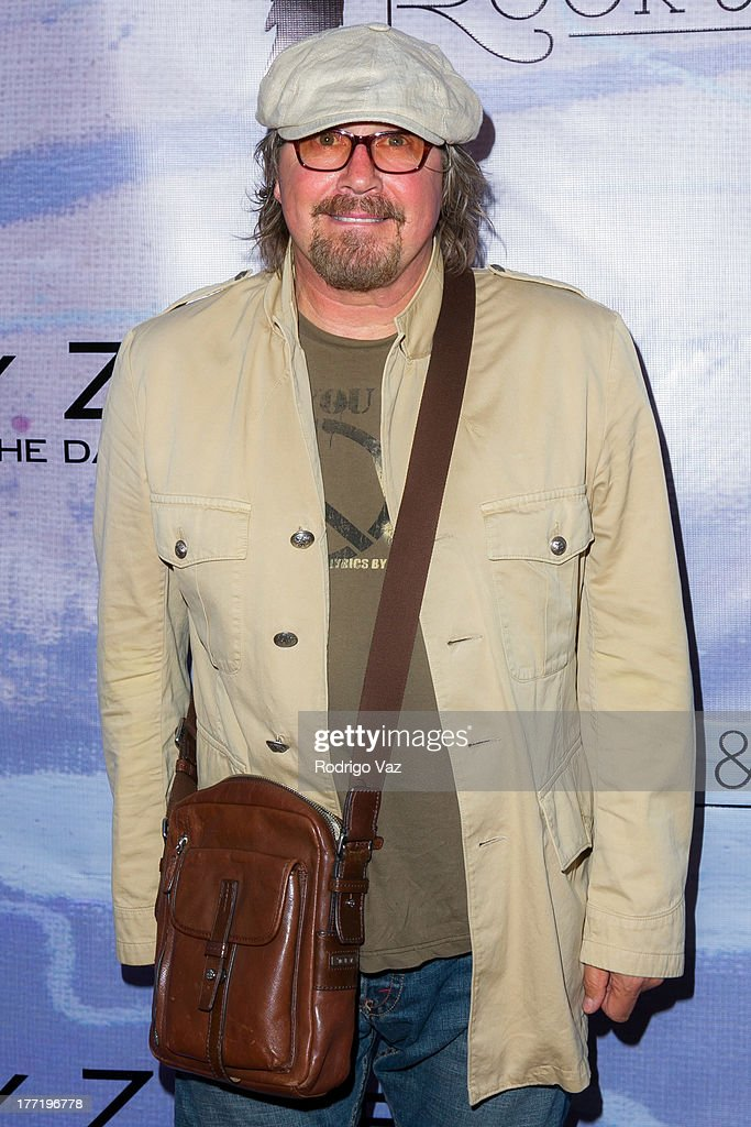 Designer Christopher Wicks attends the artist's reception for Billy Zane's solo art exhibition 'Seize The Day Bed' on August 21, 2013 in Los Angeles, California.