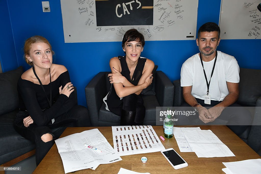Cihan Nacar - Backstage - Mercedes-Benz Fashion Week Istanbul - October 2016