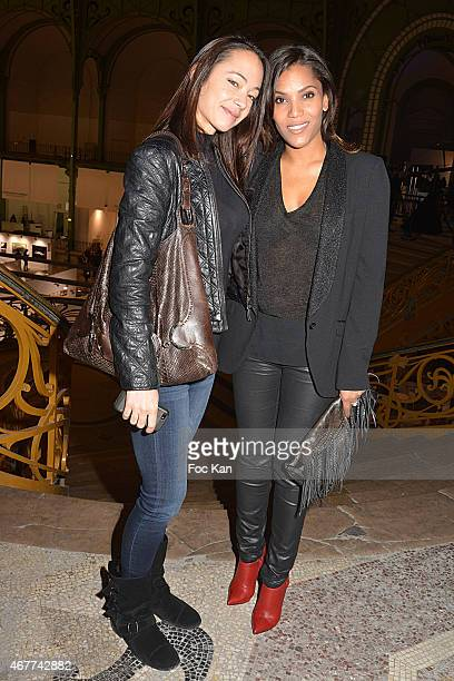 Designer Claire Mouret and TV presenter/comedian Audrey Chauveau attend the 'Diamond Night by Divinescence Vendome' Harumi Klossowska Jewellery...