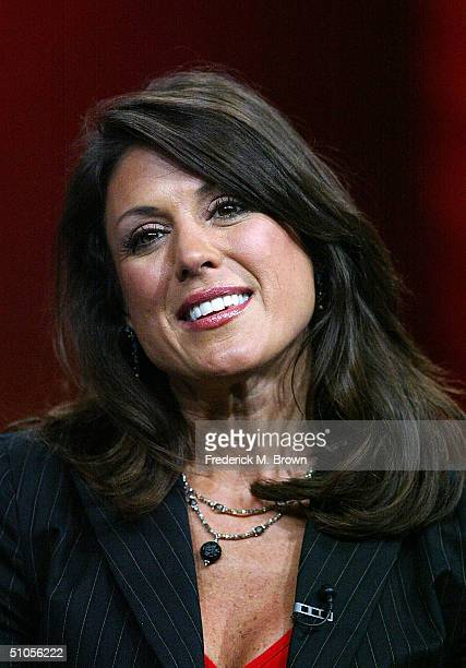 """Designer Constance Ramos of """"Extreme Makeover: Home Edition"""" speak with the press at the ABC Summer TCA Press Tour - Day 2 at the Century Plaza Hotel..."""