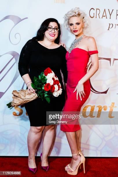 Designer Criseida Serpas and Model Ava Capra attend Sanctuary Fashion Week on March 7 2019 in Los Angeles California