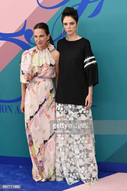 Designer Cynthia Rowley and model Coco Rocha attend the 2017 CFDA Fashion Awards at Hammerstein Ballroom on June 5 2017 in New York City