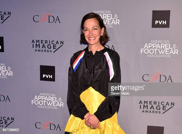 Designer Cynthia Rowley attends American Apparel Footwear Association's 40th Annual American Image Awards 2018 on April 16 2018 in New York City