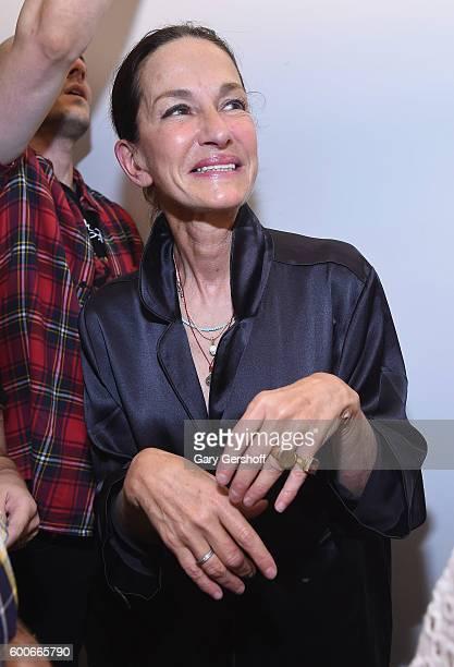 Designer Cynthia Rowley attends the Cynthia Rowley presentation during New York Fashion Week September 2016 at Cynthia Rowley Design Studio on...