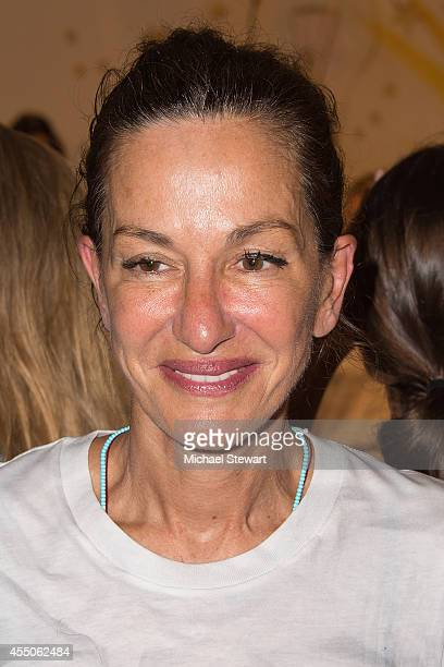 Designer Cynthia Rowley attends the Cynthia Rowley presentation during MercedesBenz Fashion Week Spring 2015 at the Swiss Institute on September 9...