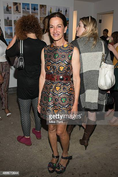 Designer Cynthia Rowley attends the Cynthia Rowley Presentation during Spring 2016 New York Fashion Week at Cynthia Rowley on September 16 2015 in...