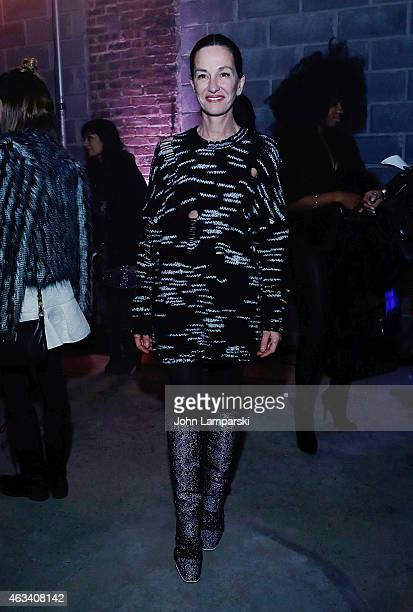 Designer Cynthia Rowley attends the Cynthia Rowley show after party during MercedesBenz Fashion Week Fall 2015 on February 13 2015 in New York City