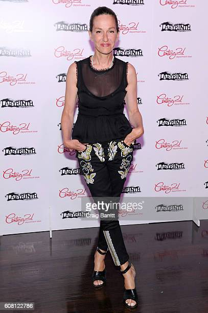 Designer Cynthia Rowley attends the Labyrinth Theater Company's Celebrity Charades Gala 2016 at Capitale on September 19 2016 in New York City
