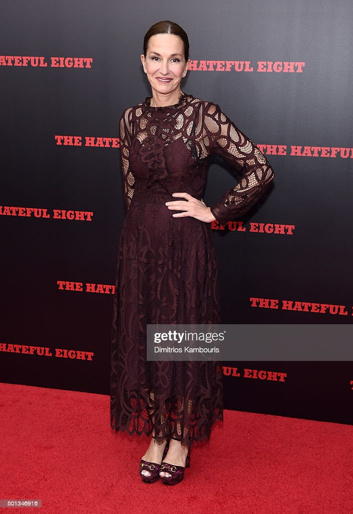 Designer Cynthia Rowley attends the New York premiere of 'The Hateful Eight' on December 14, 2015 in New York City.