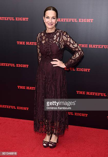 Designer Cynthia Rowley attends the New York premiere of 'The Hateful Eight' on December 14 2015 in New York City