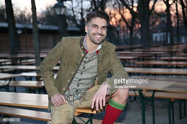 Designer Daniel Fendler during the SIXT fashion dinner at Nockherberg on March 24 2015 in Munich Germany