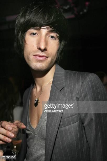 "Designer Daniel Vosovic attends the launch of ""Rock'n Rose"" Fragrance by designer Valentino on November 16, 2006 in New York City."