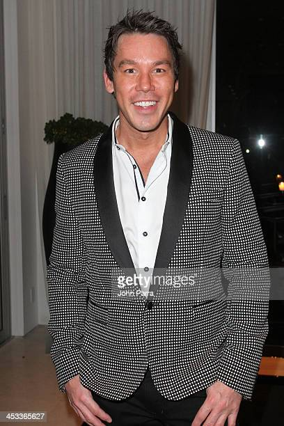 Designer David Bromstad attends Elle Decor Modern Life Concept House Opening Night Event on December 3 2013 in Miami Beach Florida