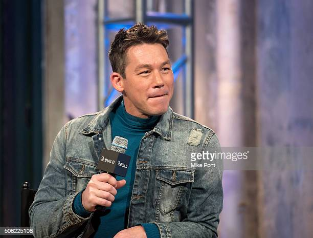 Designer David Bromstad attends the AOL Build Speaker Series at AOL Studios In New York on February 3 2016 in New York City