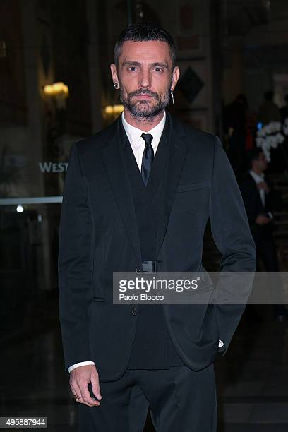 Designer David Delfin is seen arriving to GQ Men of The Year awards at Palace Hotel on November 5 2015 in Madrid Spain