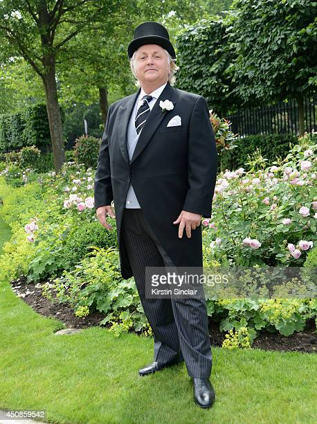Designer David Emanuel attends day three of Royal Ascot at Ascot Racecourse on June 19 2014 in Ascot England