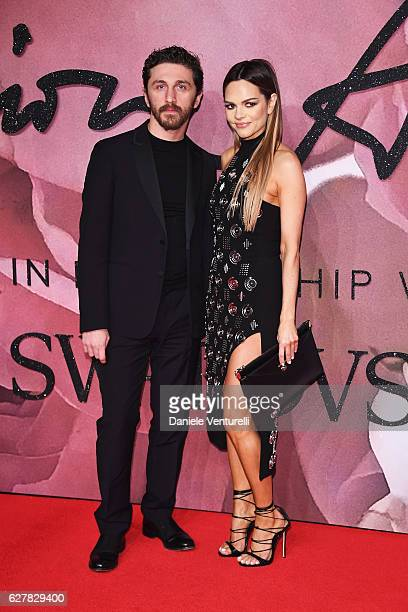 Designer David Koma and Maria Hatzistefanis attend The Fashion Awards 2016 on December 5 2016 in London United Kingdom