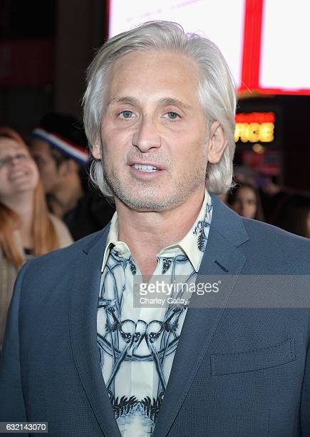 Designer David Meister attends the LA Premiere of the Paramount Pictures title 'xXx Return of Xander Cage' at TCL Chinese Theatre IMAX on January 19...