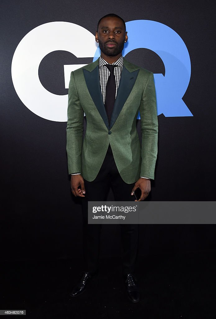 Designer Davidson Petit-Frere attends GQ and LeBron James Celebrate All-Star Style on February 14, 2015 in New York City.