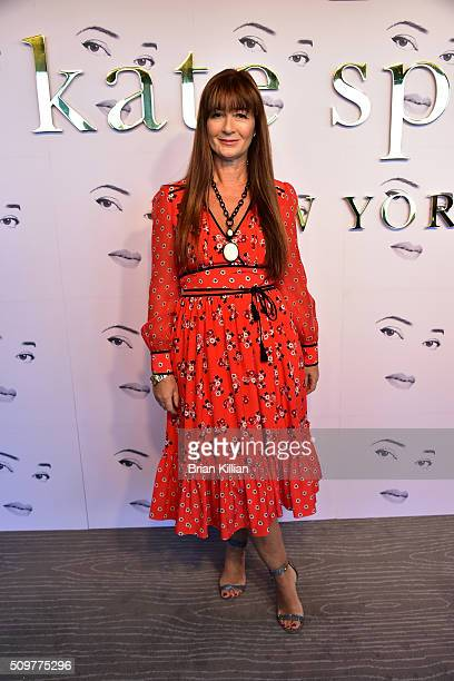 Designer Deborah Lloyd attends the Kate Spade New York Presentation Fall 2016 show during New York Fashion Week at The Rainbow Room on February 12...