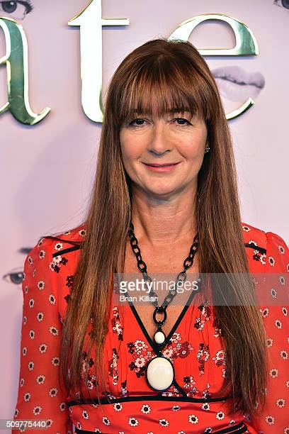 Designer Deborah Lloyd attends the Kate Spade New York Presentation Fall 2016 show during New York Fashion Week at The Rainbow Room on February 12...
