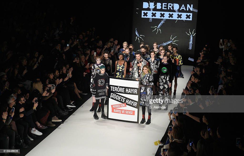 DB Berdan Runway - Mercedes-Benz Fashion Week Istanbul Autumn/Winter 2016