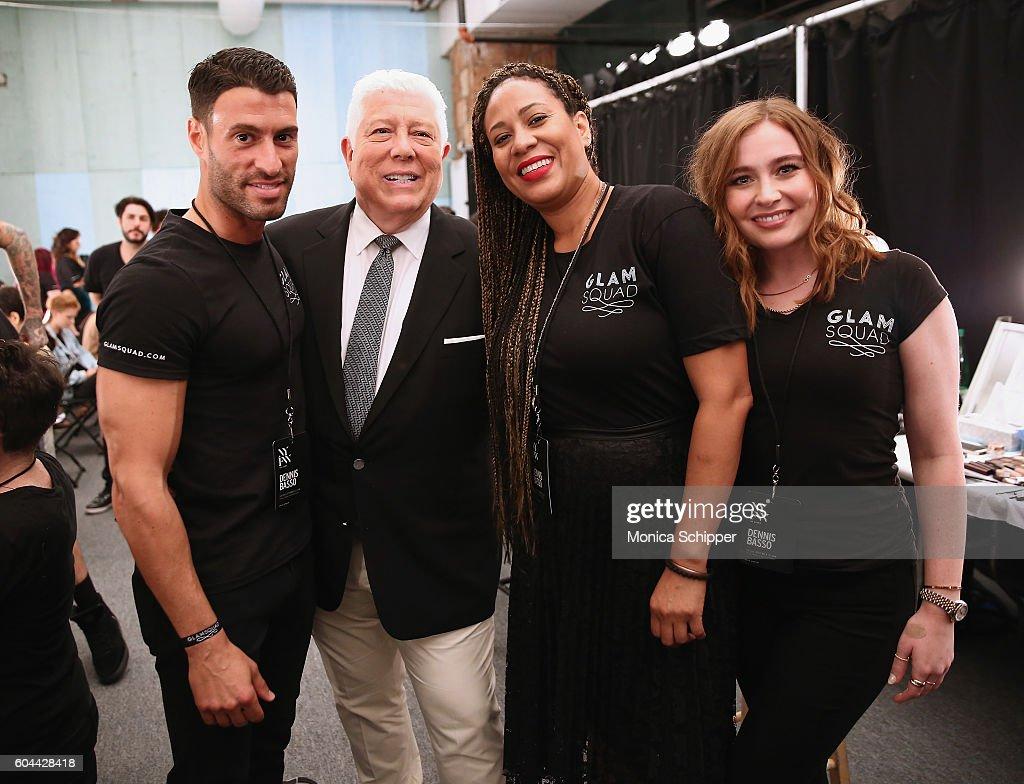 Dennis Basso - Backstage - September 2016 - New York Fashion Week: The Shows : News Photo