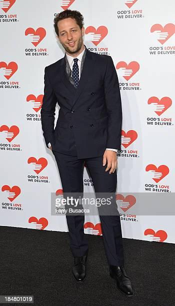 Designer Derek Blasberg attends God's Love We Deliver 2013 Golden Heart Awards Celebration at Spring Studios on October 16 2013 in New York City
