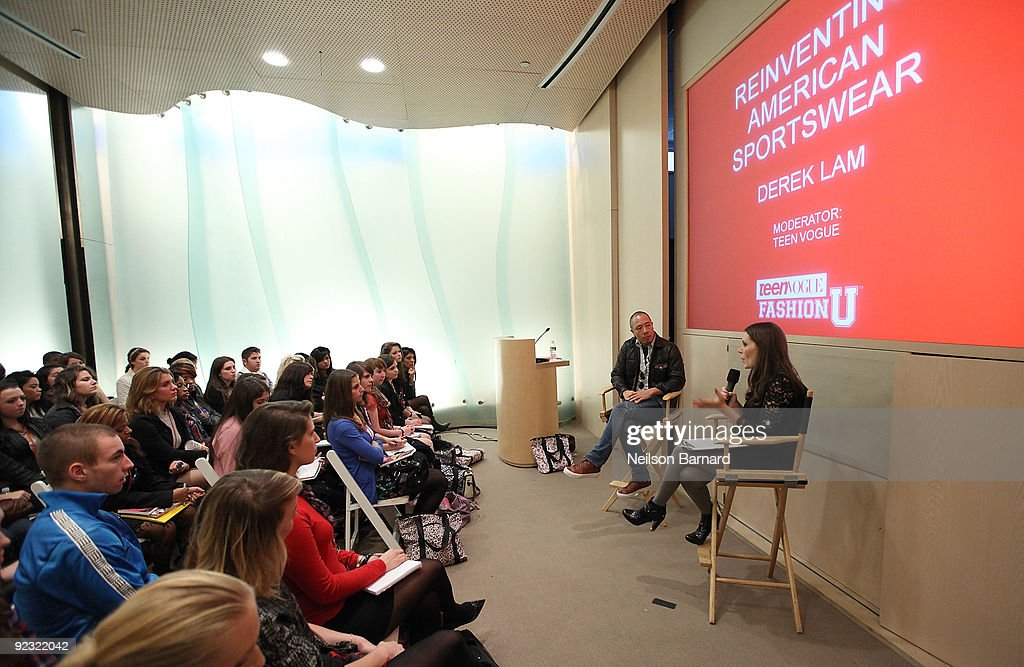 Designer Derek Lam Speaks During Teen Vogue S Fashion University At News Photo Getty Images