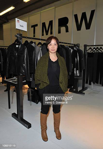 Designer Deresa Choi attends the ENK Fashion Coterie Fall 2011 at Pier 94 and Javits Center on February 20 2011 in New York City