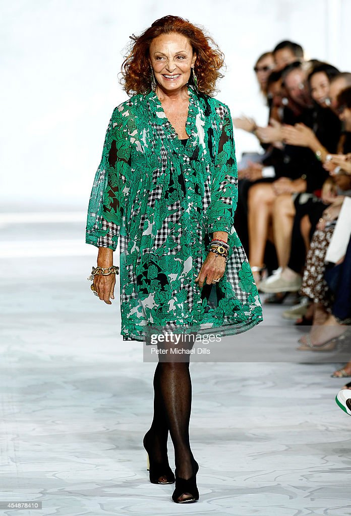 Diane Von Furstenberg - Runway - Mercedes-Benz Fashion Week Spring 2015 : News Photo