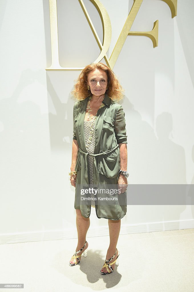 Diane Von Furstenberg - Front Row - Spring 2016 New York Fashion Week