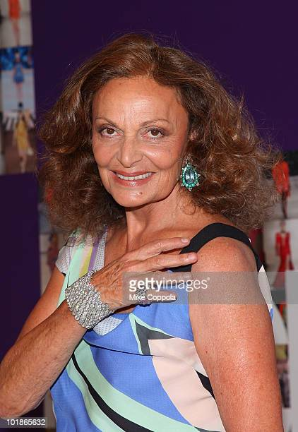 Designer Diane Von Furstenberg attends the 2010 CFDA Fashion Awards at Alice Tully Hall, Lincoln Center on June 7, 2010 in New York City.