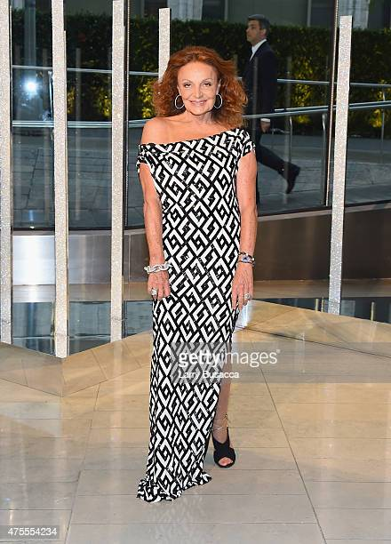 Designer Diane von Furstenberg attends the 2015 CFDA Fashion Awards at Alice Tully Hall at Lincoln Center on June 1 2015 in New York City