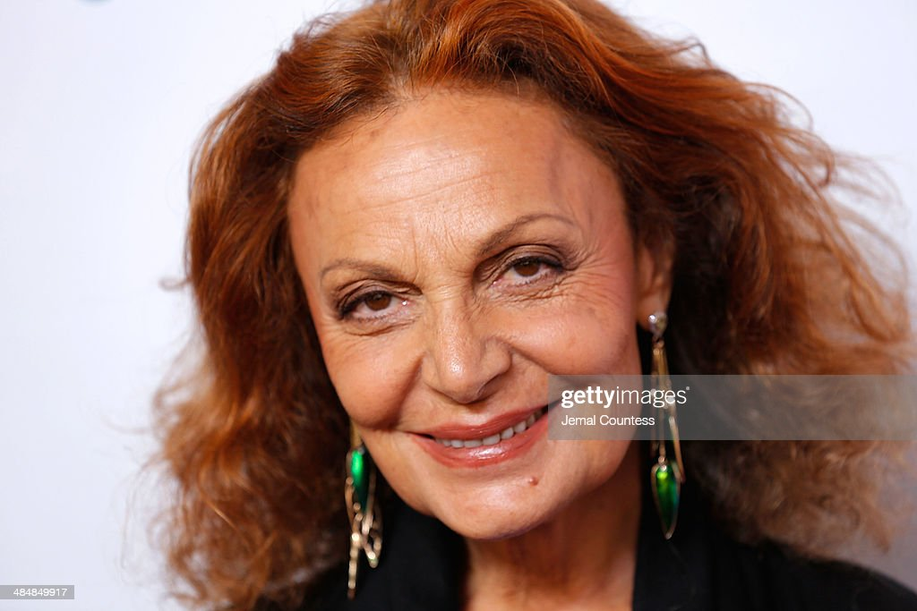 Designer Diane Von Furstenberg attends the 5th Annual Women In The World Summit at the David Koch Theatre at Lincoln Center on April 3, 2014 in New York City.