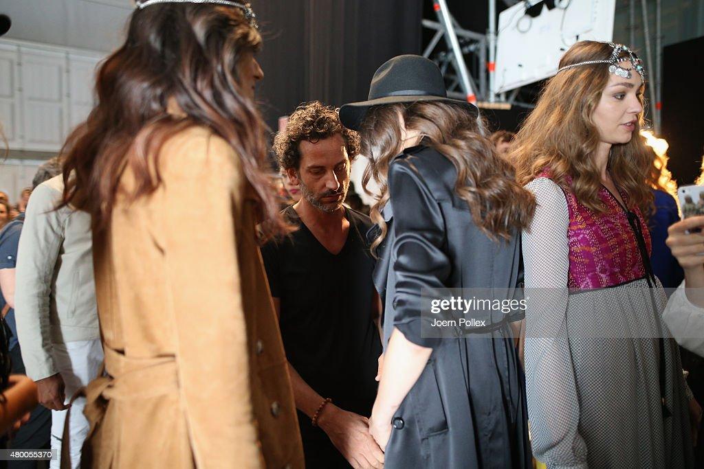 Dimitri Backstage - Mercedes-Benz Fashion Week Berlin Spring/Summer 2016