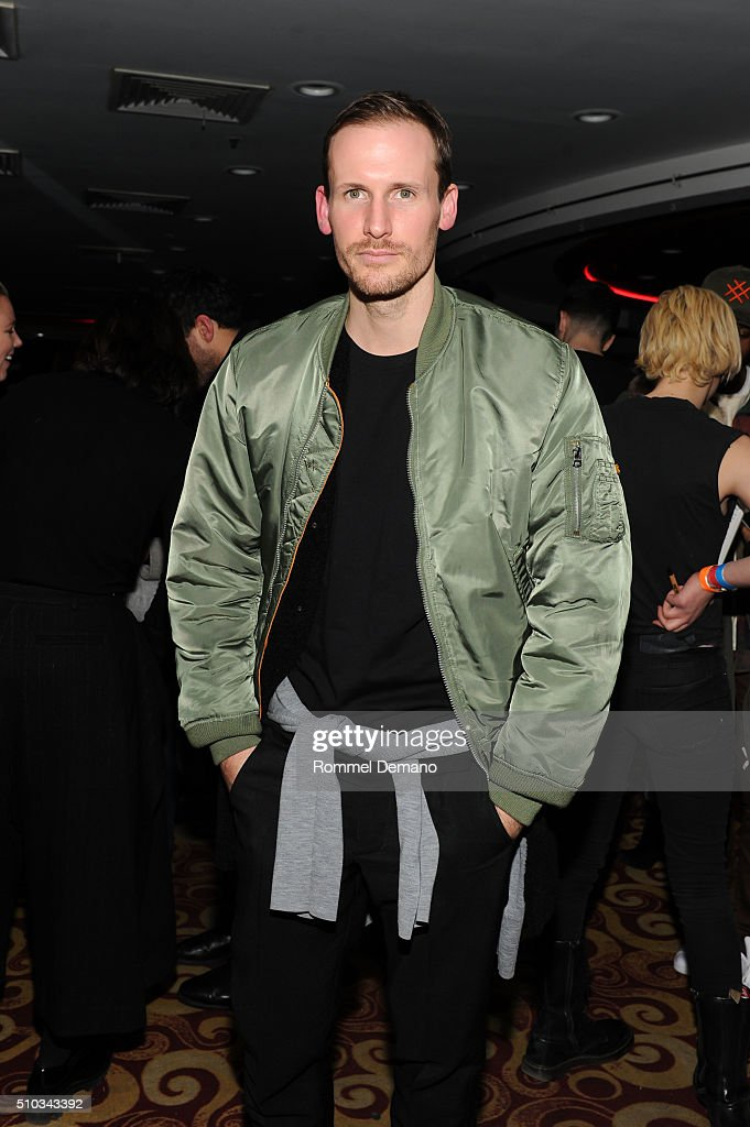 Designer Dion Lee attends Opening Ceremony After Party at 88 Palace on February 14, 2016 in New York City.
