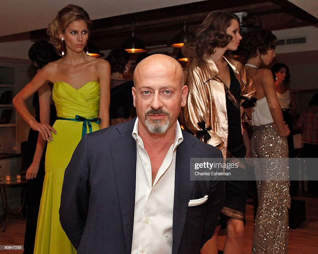 Designer Domenico Vacca attends the Domenico Vacca Spring 2010 presentation at the Soho House on September 12, 2009 in New York City.