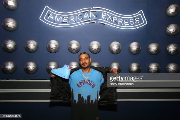Designer Don C attends The American Express Experience at NBA AllStar Weekend 2020 on February 15 2020 in Chicago Illinois